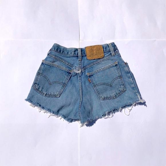 Levi's Pants - Vintage Levi's Orange Tab Denim Shorts
